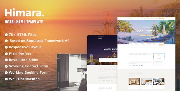 Hotel Himara – Hotel HTML Template