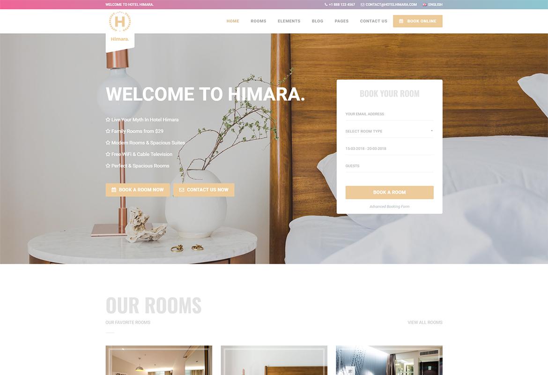 Hotel Himara- Hotel HTML Template
